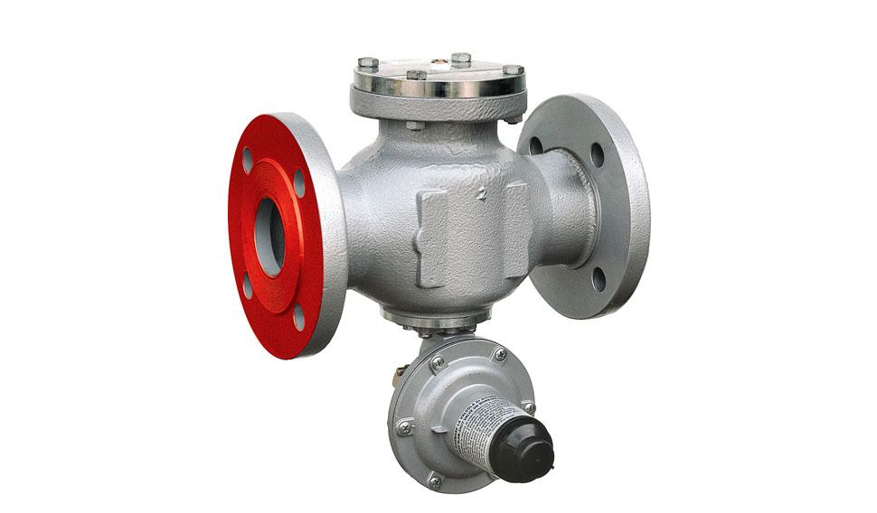 клапан запорный газа